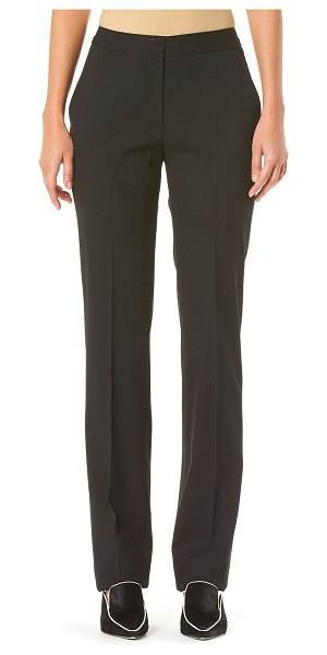 Carolina Herrera Straight-Leg Pants in black