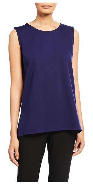 Caroline Rose Ponte Lux Longer Tank in ink