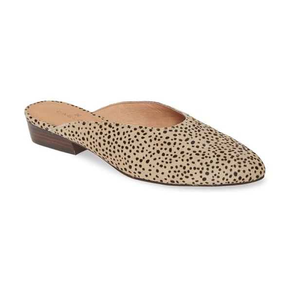 Caslon caslon callie mule in taupe spotted haircalf