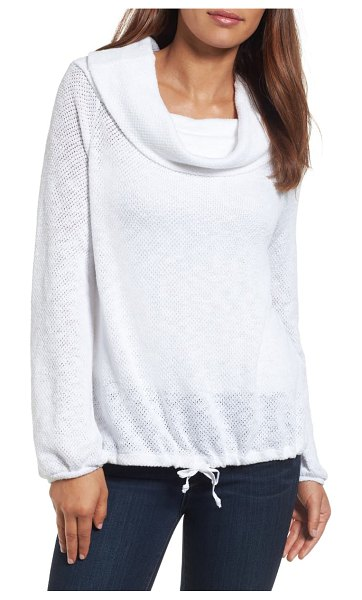 Caslon caslon convertible off the shoulder pullover in white