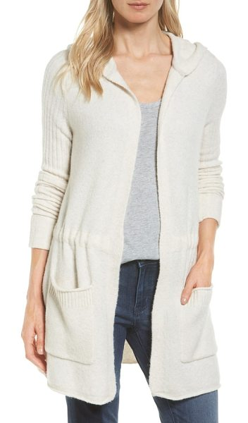 Caslon cardigan sweater in heather oatmeal