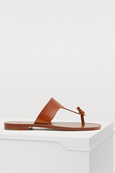 Celine Celine Lerins sandals in tan