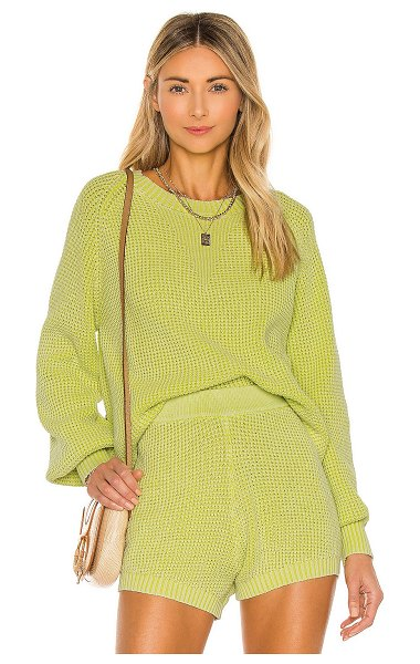 Central Park West pullover in citron