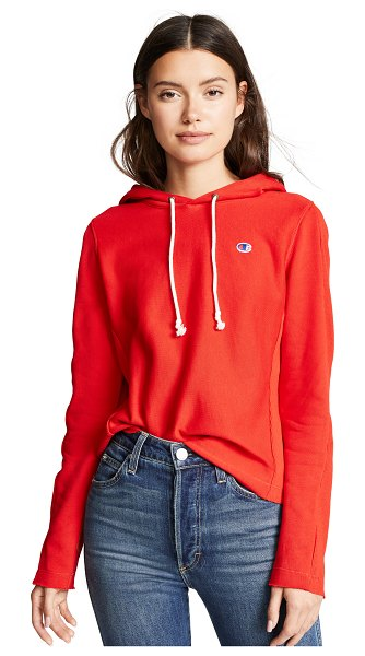 Champion Premium Reverse Weave classic hoodie in red spark - Fabric: French terry Ribbed gussets at sleeves & sides...