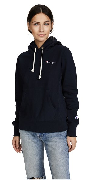 CHAMPION PREMIUM REVERSE WEAVE reverse weave terry hoodie - Fabric: French terry Pullover sweatshirt style...