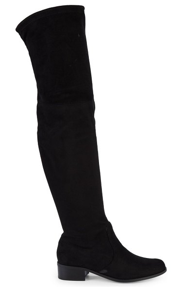 Charles by Charles David Gammon Microsuede Over-The-Knee Boots in black