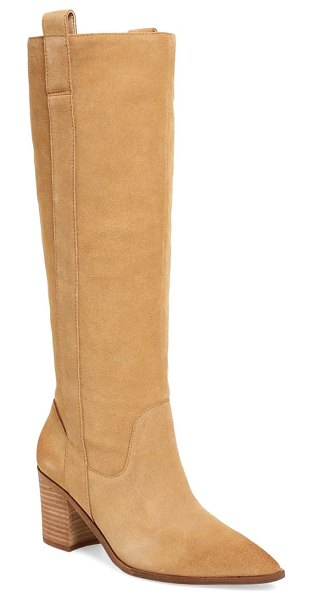 Charles David exhibit knee high boot in bisotti suede
