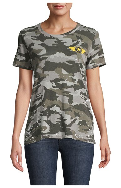 Chaser Camouflage-Print Cotton Tee in camouflage