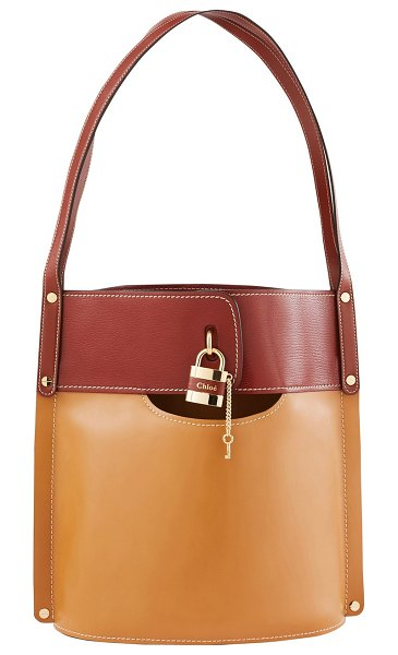 Chloe Aby Bucket bag in camel