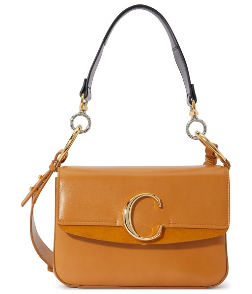 Chloe Chloé C small bag in autumnal brown