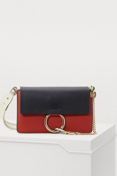 Chloe Faye small shoulder bag - Chloé creates modern and feminine accessories like this...