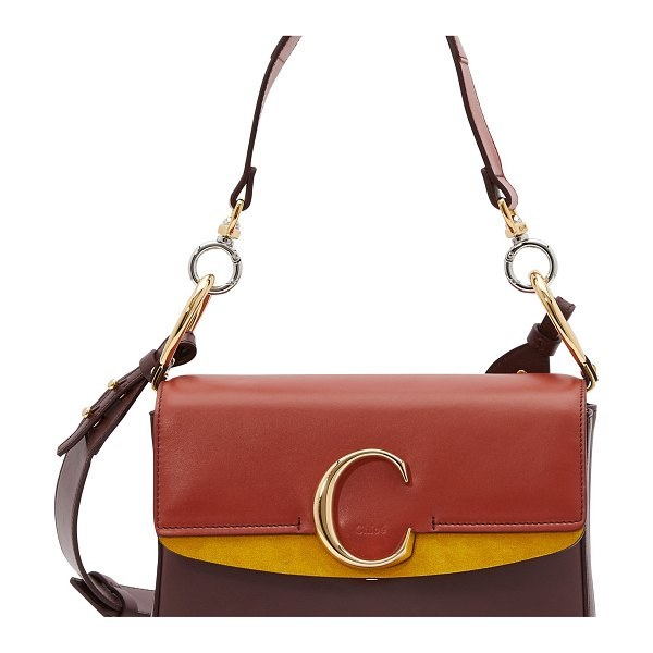 Chloe Limited edition - Chloe C shoulder bag - The Chloe C shoulder bag is a leather accessory from the...