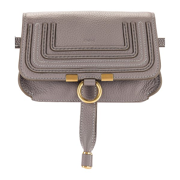 Chloe marcie belt bag in cashmere grey