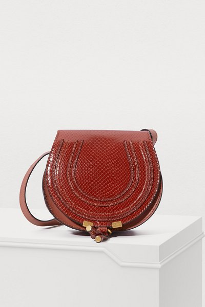 Chloe Marcie mini shoulder bag - This Marcie mini shoulder bag is a version of the iconic...