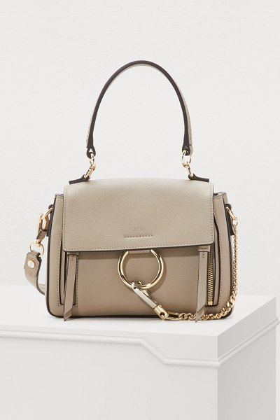 Chloe Mini Faye Day bag - The Chloé collection captivates us with its carefully...