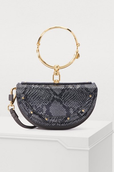 Chloe Nile clutch - The Nile clutch from Chloé charms us with its...