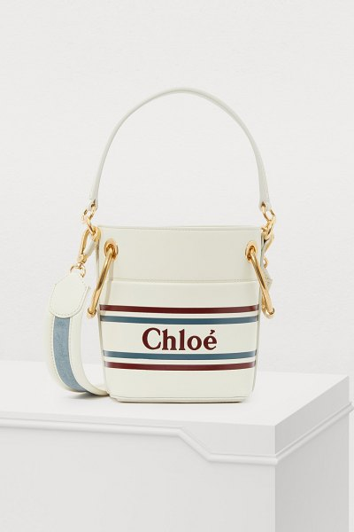 Chloe Roy mini bucket bag - The spirit of travel emanates from this Roy mini bucket...