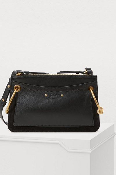 Chloe Roy mini shoulder bag - With its soft, feminine lines, the Roy mini shoulder bag...