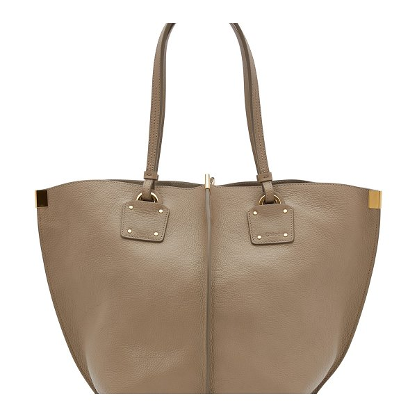 Chloe Vick tote bag - The soft and generous lines of this Vick tote bag were...