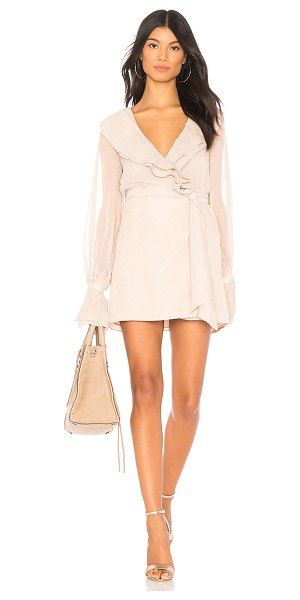 Chrissy Teigen x REVOLVE Sands Dress in white - Self & Lining: 100% poly. Hand wash cold. Fully lined....