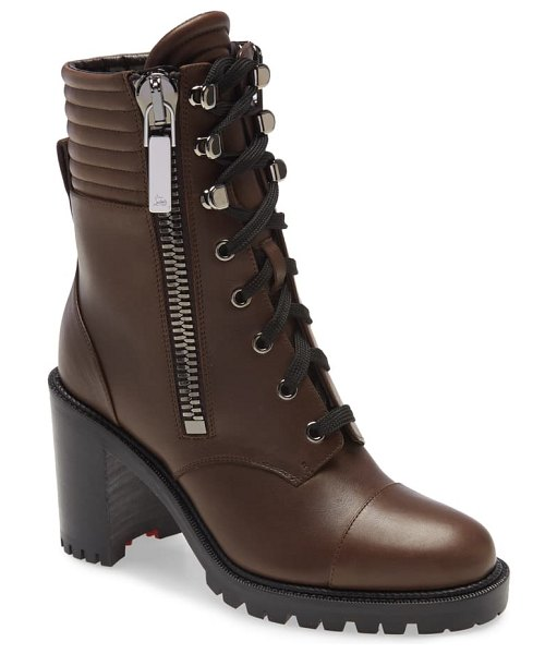 Christian Louboutin en hiver hiking boot in arabica