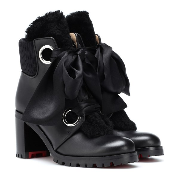 Christian Louboutin jenny from the alps 70 ankle boots in black