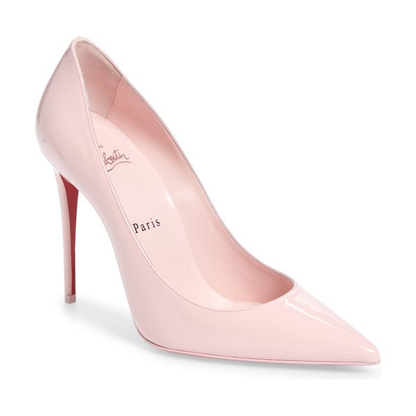 Christian Louboutin so kate pointy toe pump in pink