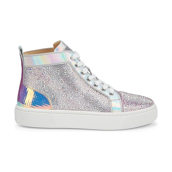 Christian Louboutin super louis strass sneakers in version ab