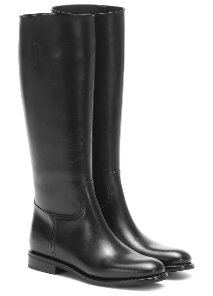 CHURCH'S ofelia leather knee-high boots in black