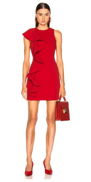 Cinq a Sept Kimberlin Dress in red - Self: 69% triacetate 31% poly - Lining: 95% poly 5%...
