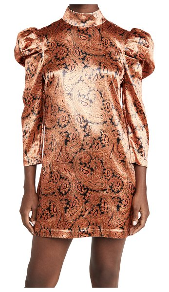 Cinq a Sept paisley karen dress in flame multi