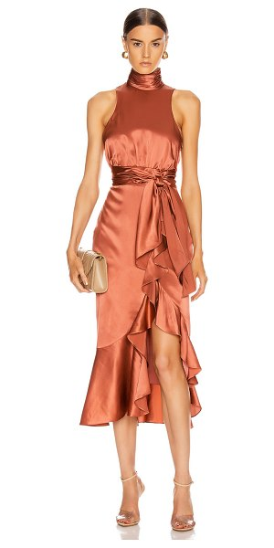Cinq a Sept winona dress in rosewood