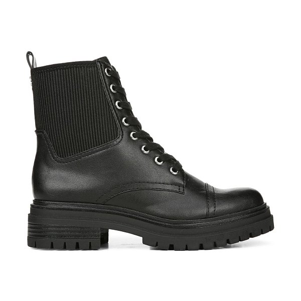 Circus by Sam Edelman Giovanny Combat Boots in black