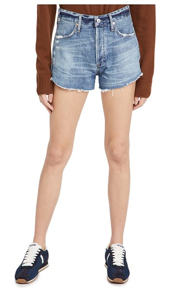 Citizens of Humanity annabelle cutoff shorts in solano canyon