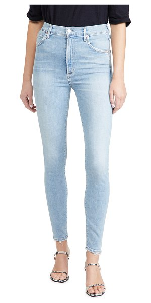 Citizens of Humanity chrissy high rise skinny jeans in islands