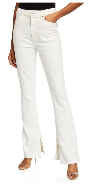 Citizens of Humanity Georgia High-Rise Boot-Cut Jeans in zen