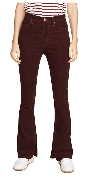 Citizens of Humanity georgia high rise corduroy jeans in syrah