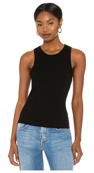 Citizens of Humanity isabel rib tank in black