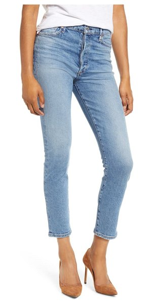 Citizens of Humanity olivia high waist slim ankle jeans in chit chat