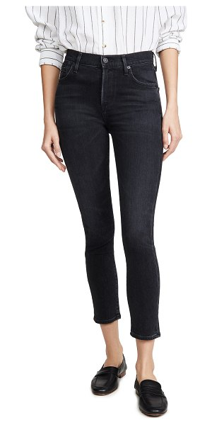 Citizens of Humanity rocket crop mid rise skinny jeans in thrill
