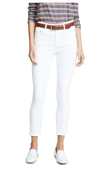 Citizens of Humanity rocket sculpt crop jeans in white