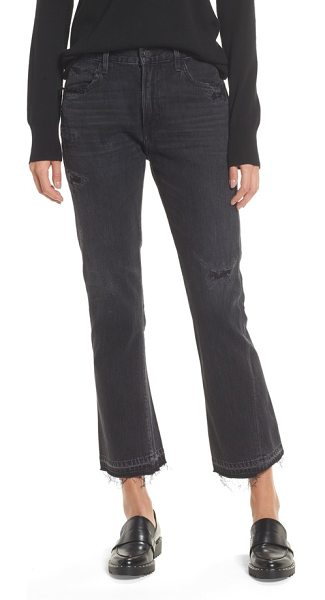 CITIZENS OF HUMANITY sasha twist crop jeans - Fraying, shredding and fading perfectly age these cropped...