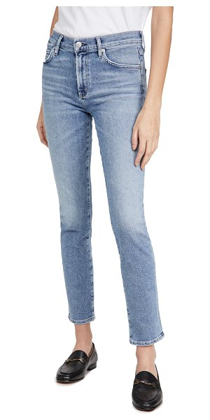 Citizens of Humanity skyla mid rise cigarette jeans in julep