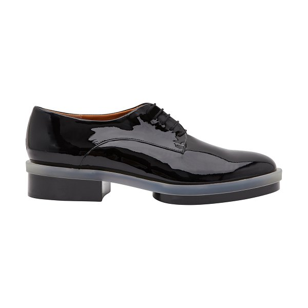 CLERGERIE Roma brogues in blck pat
