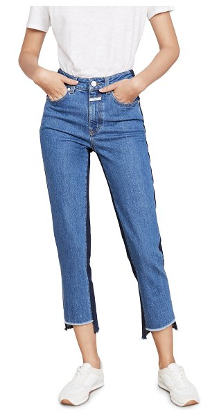 Closed glow jeans in mid blue