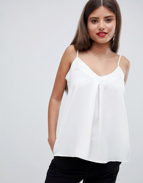 Closet London cami top in white - Top by Closet, Not for the clumsy ones, V-neck, Cami...