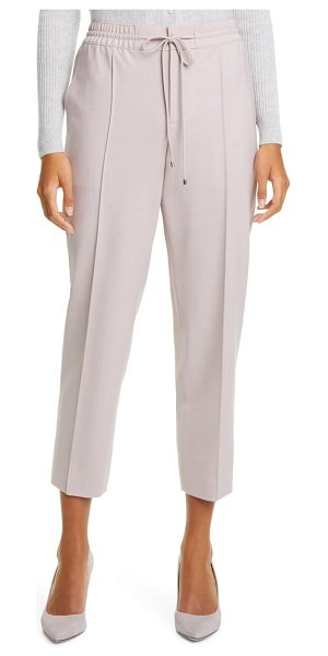 Club Monaco ankle trousers in mauve