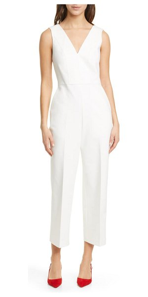 Club Monaco day to night sleeveless jumpsuit in pearl