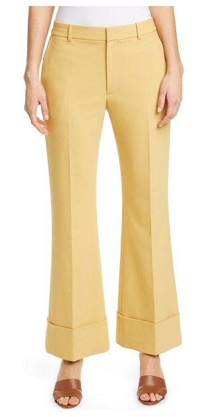 Club Monaco extreme cuff pants in ginger