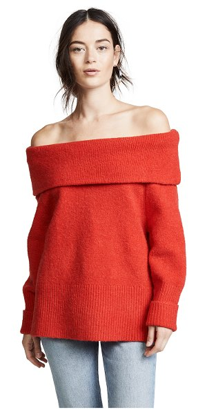 C/Meo Collective distances knit jumper in cherry